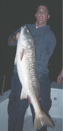 Andy with Redfish from Sebastian Inlet '09