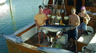 3 Wahoos caught off Rum Cay